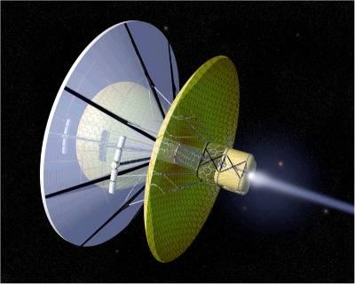 Bussard Ramjet, NASA image: Wikipedia Commons