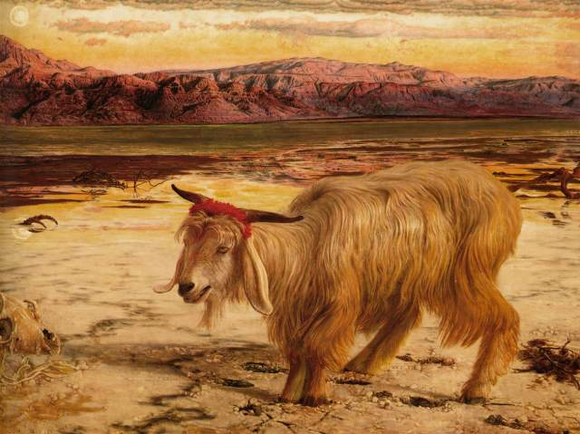Holman Hunt Scapegoat