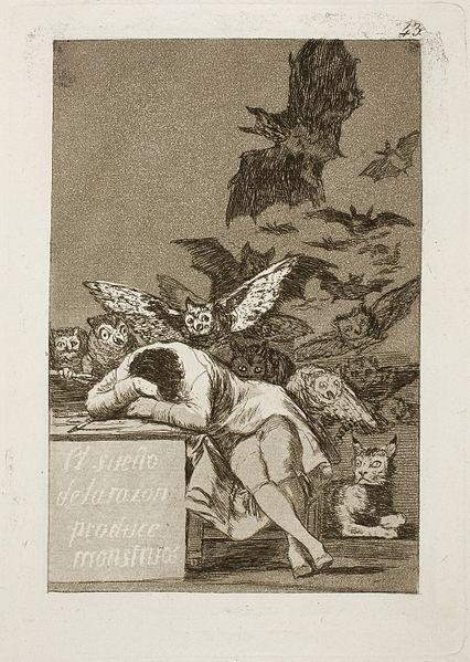 The Sleep of Reason (Wikipedia Commons)