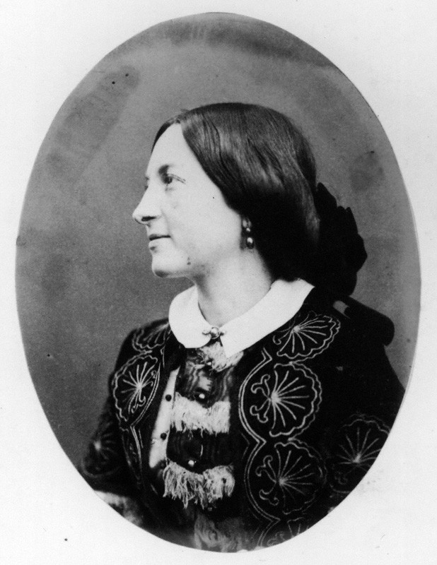 Euphemia ('Effie') Chalmers (née Gray), Lady Millais by (George) Herbert Watkins, albumen print, late 1850s