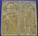 Ivory diptych, Monza Cathedral (Wikipedia Commons)