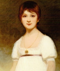 A portrait believed to be Jane at 13 (1789)
