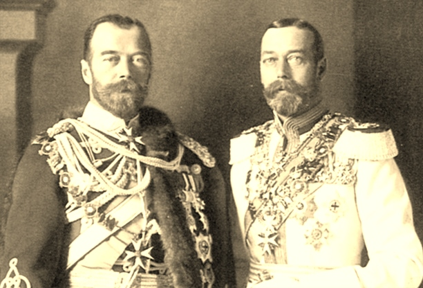 Czar Nicholas II and King George V