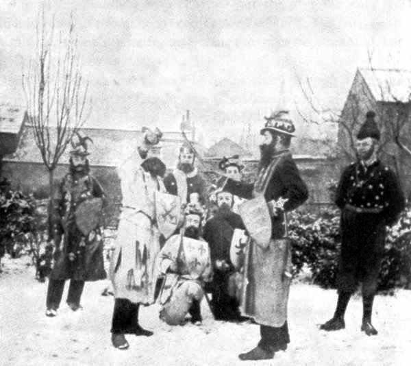 Victorian Christmas Mummers Play