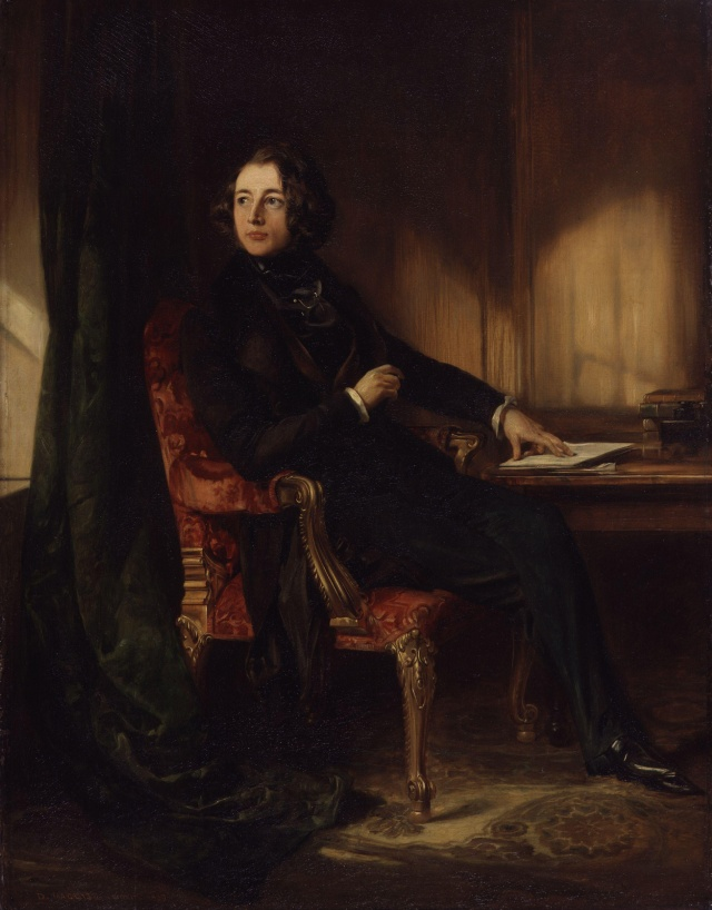 Charles Dickens (aged 27 in 1839) by Daniel Maclise Wikipedia Commons / National Portrait Gallery