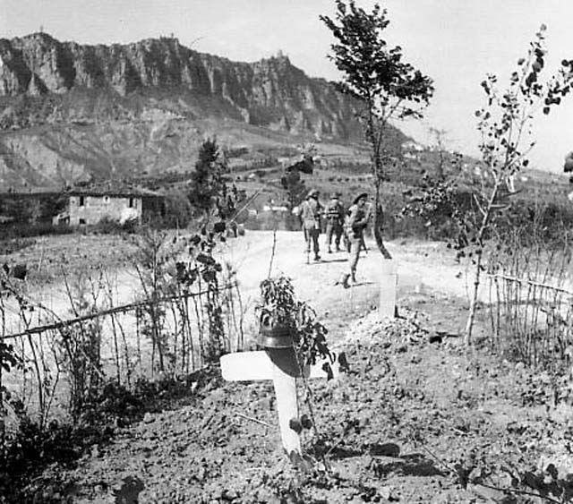 Monte Titano September 1944