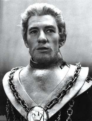 Ian McKellen playing Edward II in the Prospect Theatre 1969-70 tour
