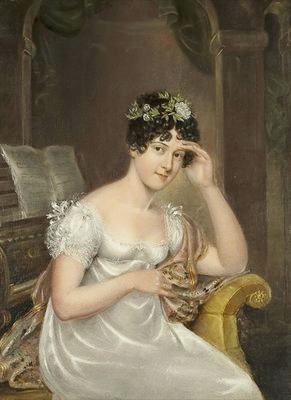 Rolinda Sharples (1793--1838) Portrait of the Artist (Bristol Museums & Art Gallery)