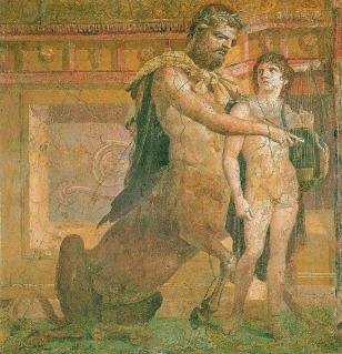 Greek centaur fresco