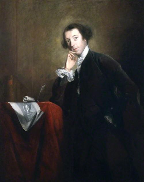 NPG 6520; Horace Walpole by Sir Joshua Reynolds by Sir Joshua Reynolds oil on canvas, circa 1756-1757 NPG 6520 © National Portrait Gallery, London