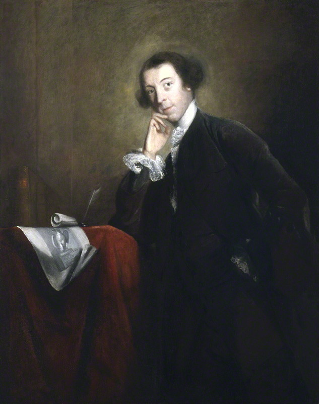 NPG 6520; Horace Walpole by Sir Joshua Reynolds by Sir Joshua Reynolds oil on canvas, circa 1756-1757 NPG 6520 © National Portrait Gallery, London