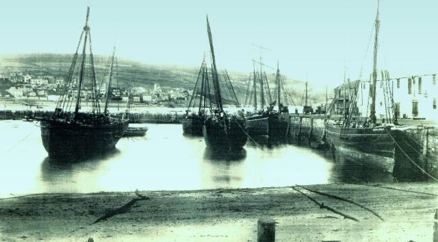 The Cobb, Lyme Regis 1892
