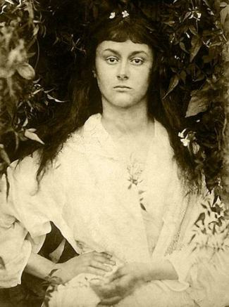 Alice Liddell as Pomona by Julia Margaret Cameron 1872