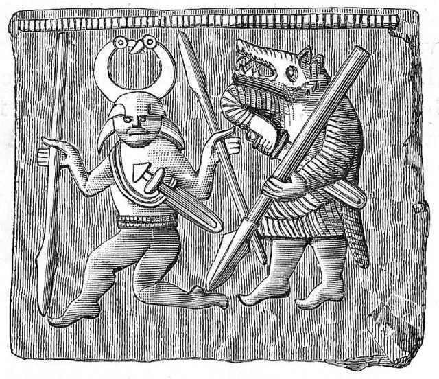 Swedish warrior and berserker
