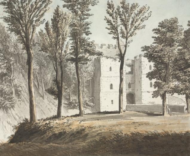 Arundel Castle south gate