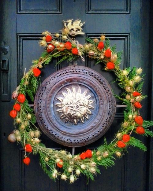 sun wreath