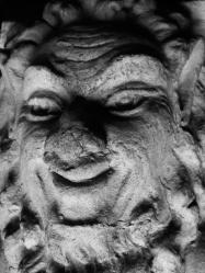 satyr face