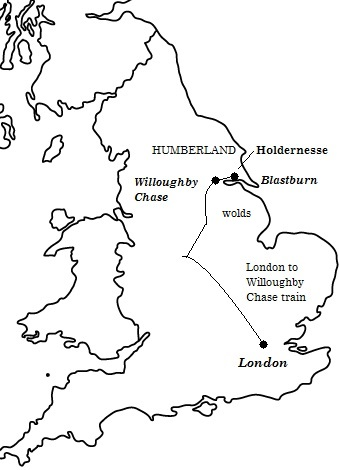 Dido's World: sketch map 1