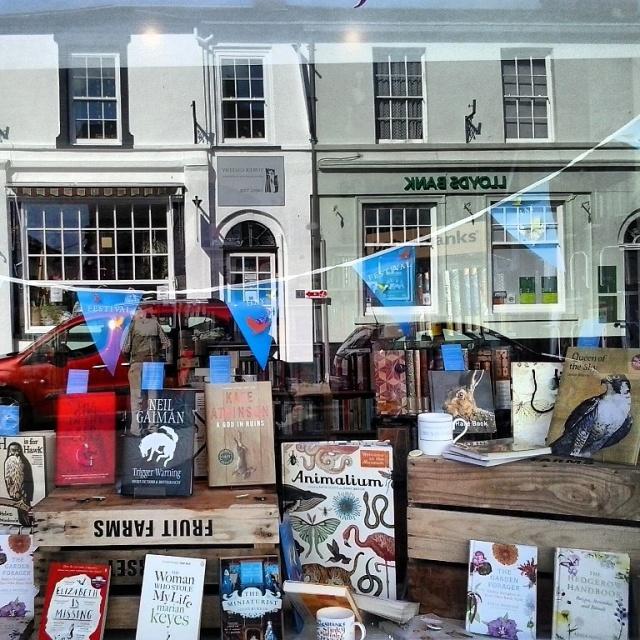 bookshop window