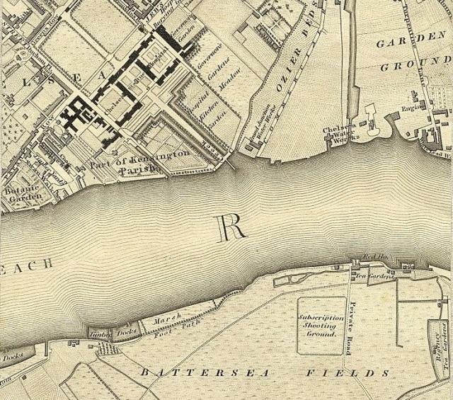 Battersea Chelsea 1827