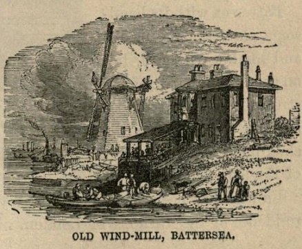 Battersea Windmill (thanks to Lory for providing a link to this