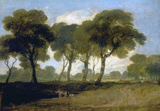 Turner's View on Clapham Common (1800-1805)