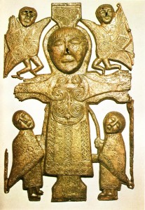 Crucifixion Plaque from Co. Roscommon
