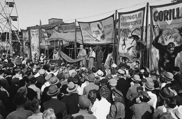 US carnival, 1930s