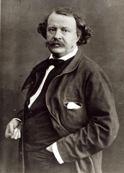 Felix Nadar c 1860 self portrait by Nadar, (Gaspard Felix Tournachon 1820-1910); Bibliotheque Nationale, Paris, out of copyright