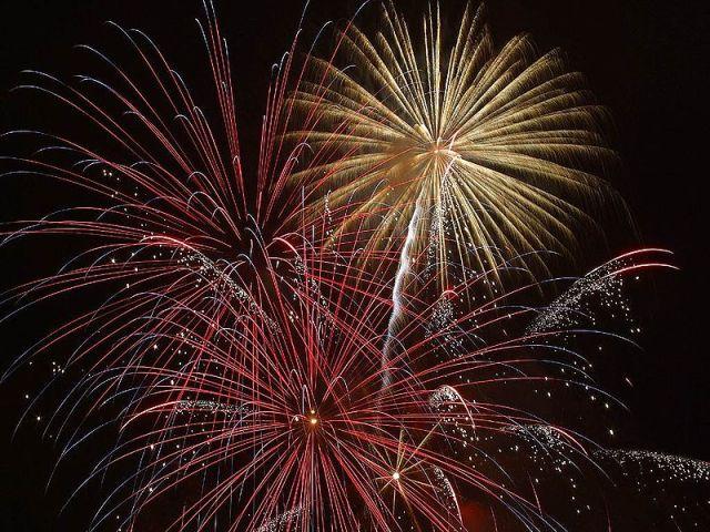 Fireworks [credit: Jon Sullivan, Public Domain]