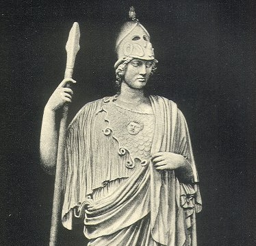 Roman copy of a Greek statue of Pallas Athena (image: public domain)