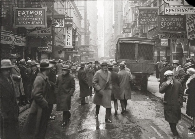 Nassau Street, New York 1926