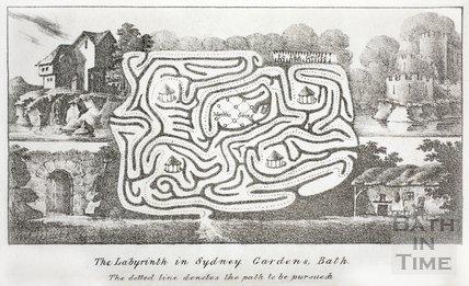 Sydney Gardens labyrinth