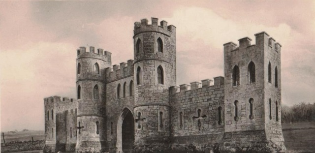 The Sham Castle, Bathampton, Bath from an old postcard