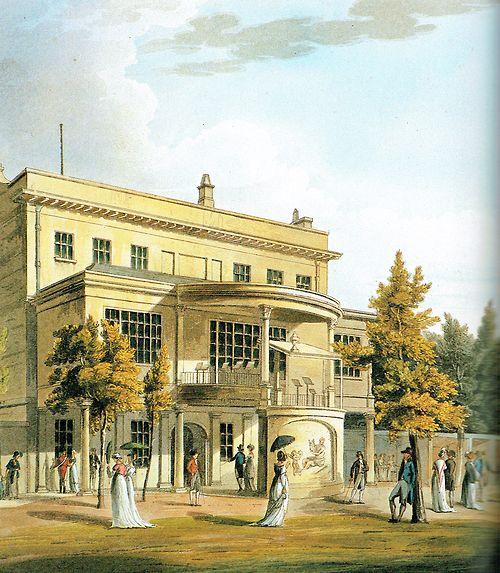 Sydney Hotel and pleasure gardens, Bath