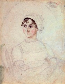 Jane by Cassandra Austen, pencil and watercolour, circa 1810