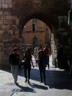 Archway into Place de l'Hotel de Ville