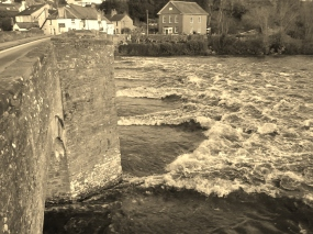 Crickhowell Bridge over the Usk