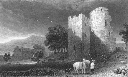 Crickhowell Castle, 1831